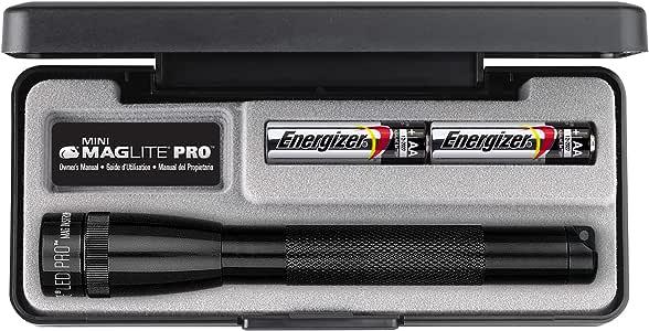 Maglite 226 Lumens Mini PRO LED Flashlight, Black