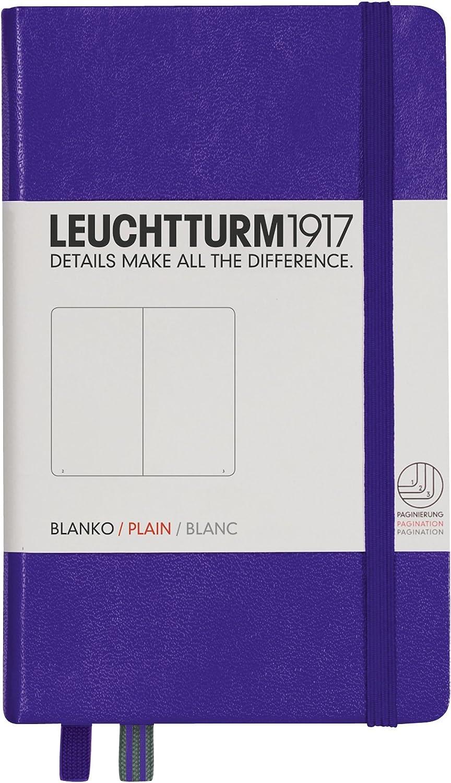 naranja LEUCHTTURM1917 342933 Libreta de notas Pocket A6 187 p/áginas numeradas puntos tapas duras