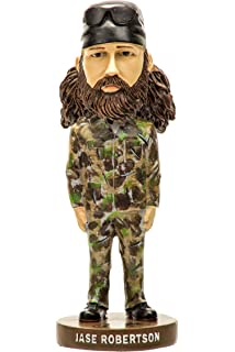 Duck Dynasty Duck Commander Bobble Head Willie Robertson  New In Box ~ Free Ship