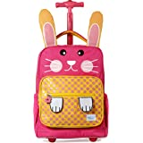 TWISE SIDE-KICK SCHOOL, TRAVEL ROLLING BACKPACK FOR KIDS AND TODDLERS