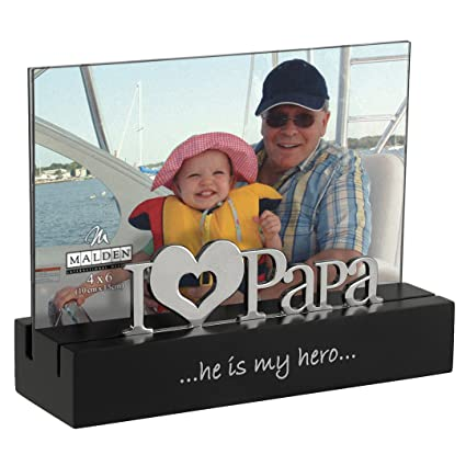 Amazon.com - Malden International Designs I Love Papa Desktop ...