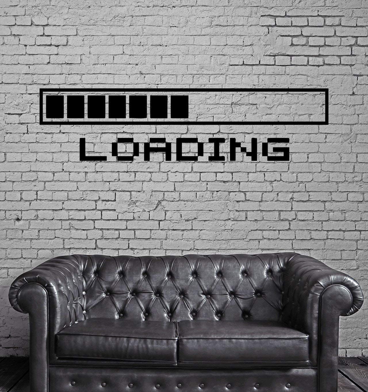 PICTURE IT ON CANVAS Loading a Video Game Wall Poster Decal Cool Gamer Stuff Computer Wall Stickers Murals Home Decor Accents by PICTURE IT ON CANVAS (Image #1)