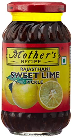 Mother S Recipe Rajasthani Sweet Lime Pickle 350g Amazon In