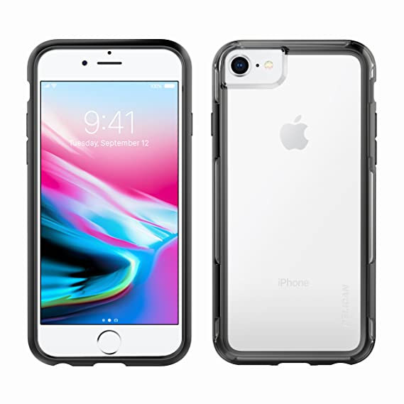 buy popular 6f747 5a89a iPhone 8 Case | Pelican Adventurer Case - fits iPhone 6/6s/7/8 (Clear/Black)