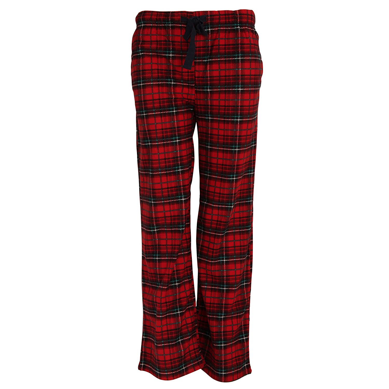 Aibrou Pantalones Hombre Largos Cuadros de forro Polar Con Cinturón y Dos Bolsillo avHR5NL5hT