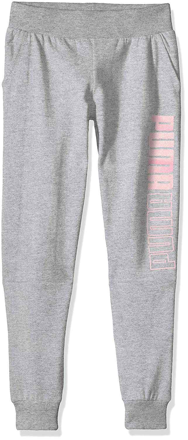 PUMA Big Girls Fleece Joggers