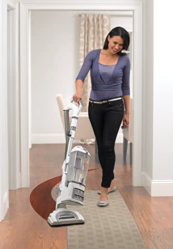 Shark Navigator Professional Upright Corded Bagless Vacuum for Carpet and Hard Floor with Lift-Away Hand Vacuum and Anti-Allergy Seal NV370 , White