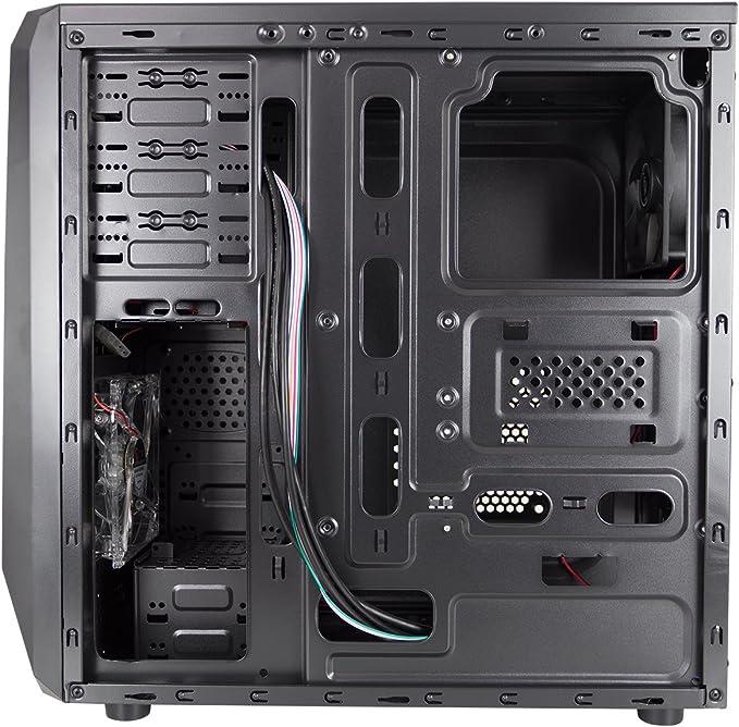 Nox NX200 - Caja semitorre atx, micro-atx, sin fuente, USB, Negro: Amazon.es: Informática