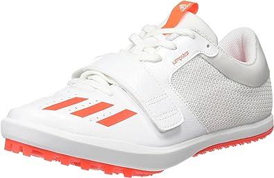 Limpia el cuarto residuo Nunca  Amazon.com | adidas Jumpstar Long Jump Triple Jump Spike Shoe White/Red -  UK 12.5 | Shoes