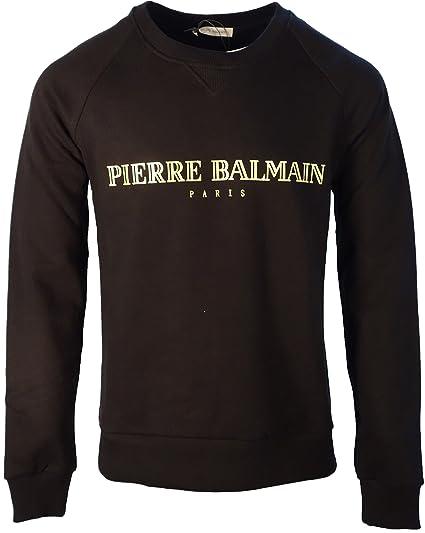 bd19ad88 PIERRE BALMAIN TOP BRAND LOGO FRONT BLACK 54: Amazon.co.uk: Clothing