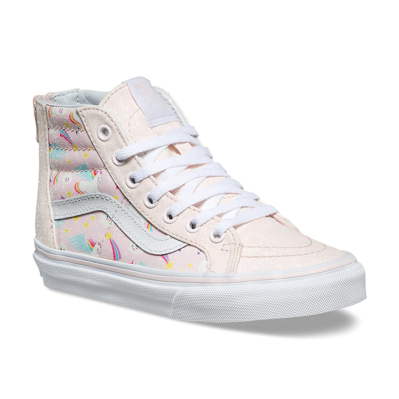 92351d7ae95207 Vans Kids SK8-Hi Zip (Glitter Pegasus) Heavenly Pink True White VN0A3276U07  Kids Size 7  Amazon.co.uk  Shoes   Bags