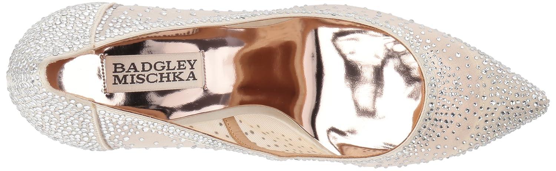 Badgley Mischka Women's Weslee Pump B073CX5611 8 M US Ivory