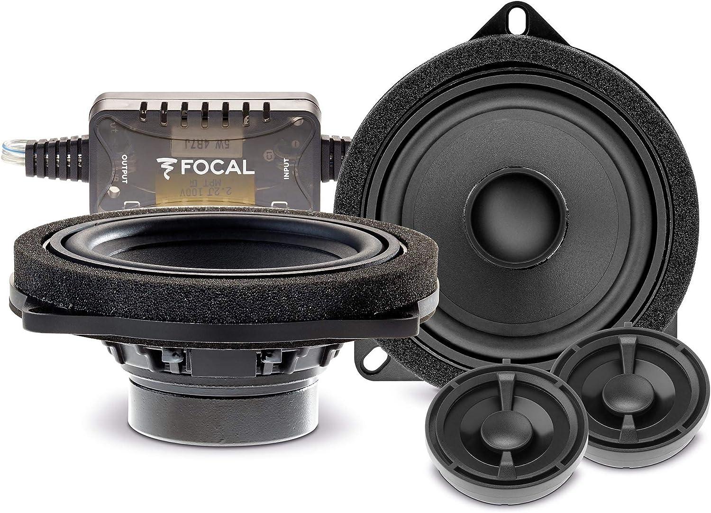 Focal Isbmw100l Inside 2 Wege Compo Kompatibel Mit Bmw Lautsprecher Speaker Für Bmw Focal Is Bmw 100l Navigation