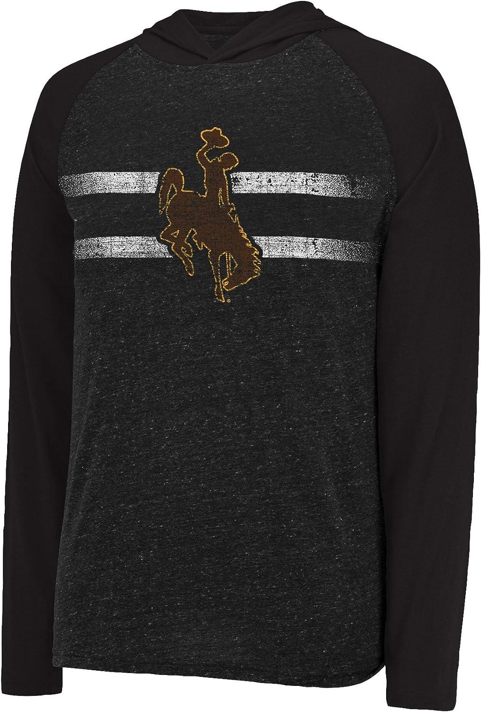 J America NCAA Mens Free Style Hooded Slub Tee