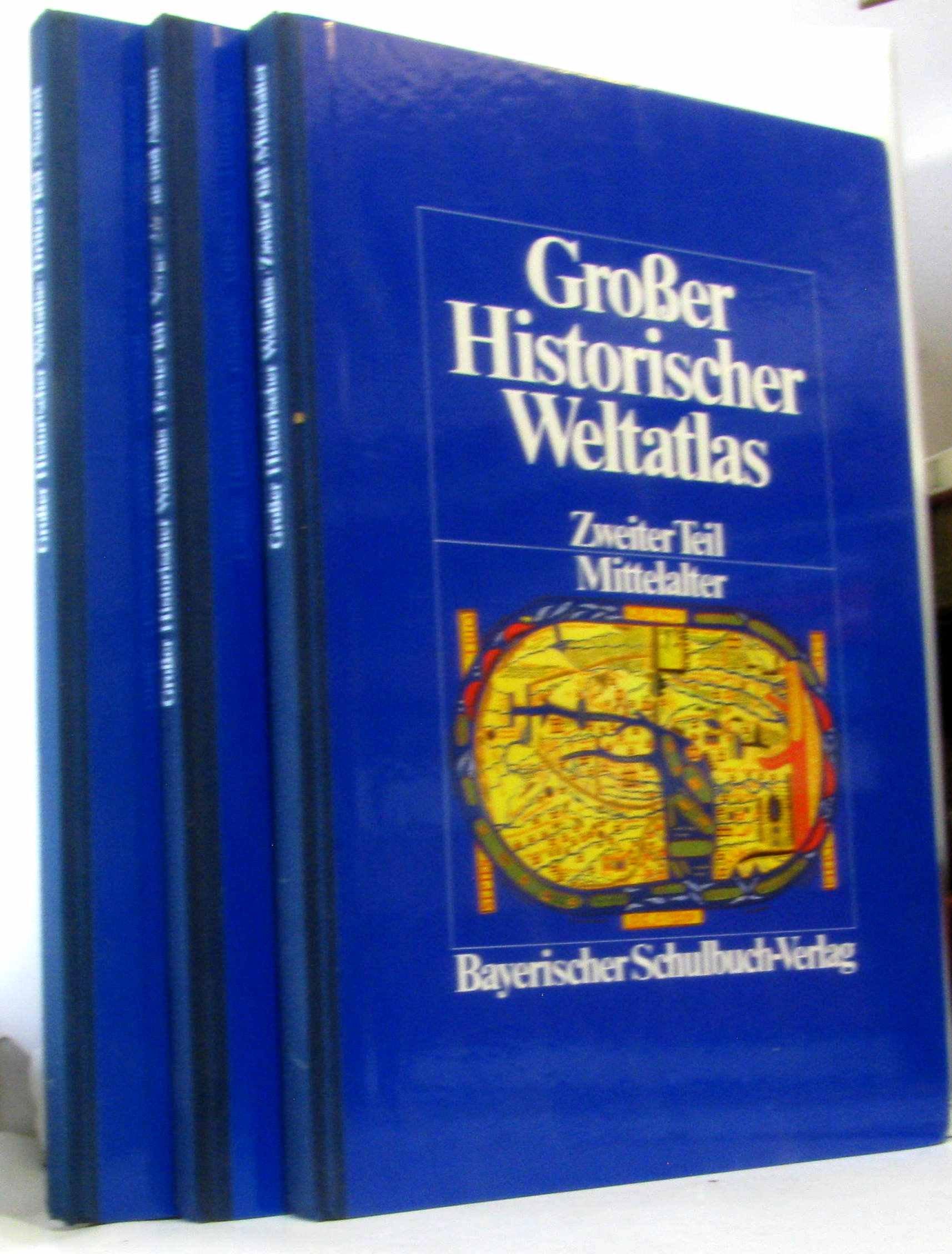 Grosser Historischer Weltatlas / Vorgeschichte und Altertum Gebundenes Buch – 1986 Hermann Bengtson Vladimir Milojcic 3762760055 Schulbücher
