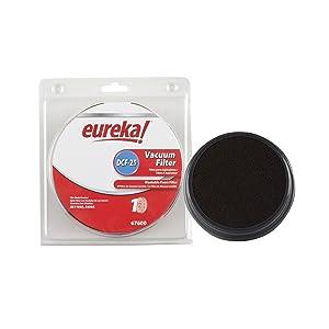Genuine Eureka DCF-25 Vacuum Filter 67600 - 1 filter
