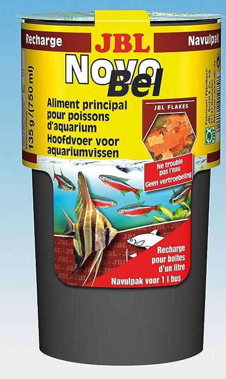 Novo Bel carga 130 g comida en copos para todos peces