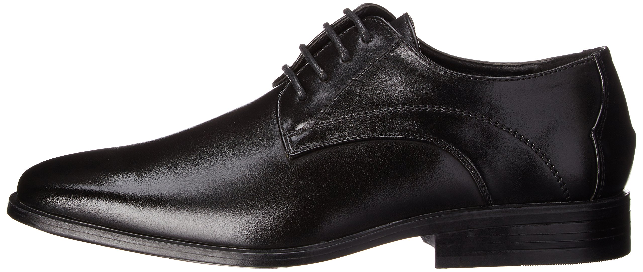 Stacy Adams Carmichael Plain Toe Lace-up Uniform Oxford Dress Shoe (Little Kid/Big Kid),Black,4 M US Big Kid by STACY ADAMS (Image #5)