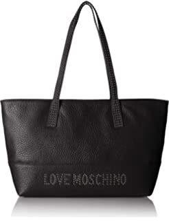 Love naturale Donna Canvas Tote Moschino Multicolore Borsa q0U4Pwq