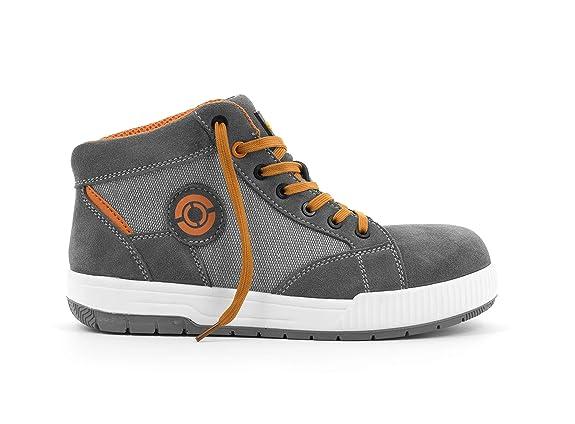 Foxter - Zapatos de Seguridad | Botas de Trabajo para Hombre | Ligeros y Transpirables | S1P SRC