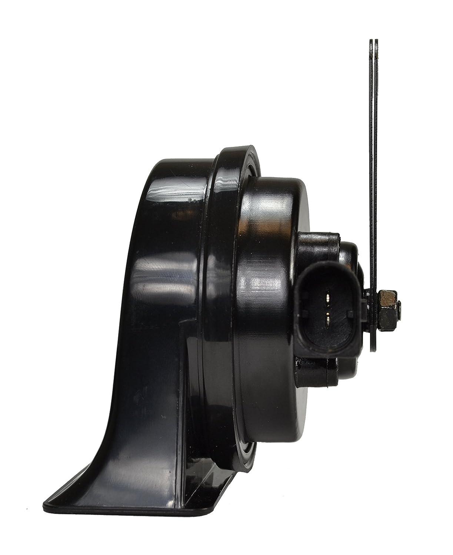 Vw HELLA 011225851 Black 12V BX Trumpet Horn Kit