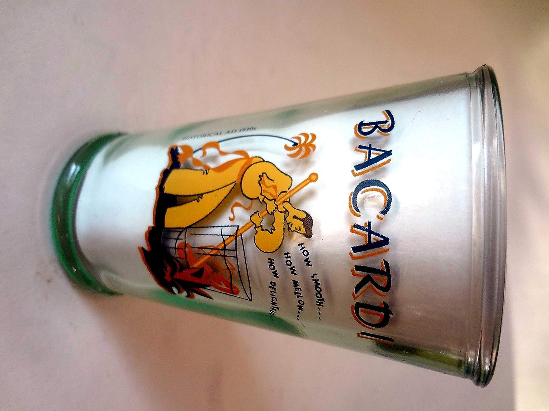 Ron de Bacardi 150 años Celebration cristal 10 oz: Amazon.es ...