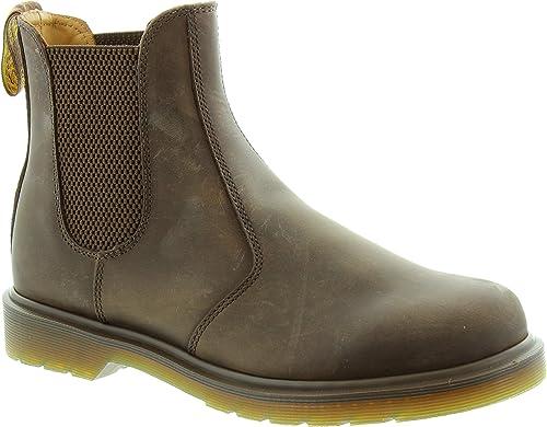 Dr Martens 2976 Chelsea Boot Hommes Femmes Bottes Boots Chaussures 11853201 Marron