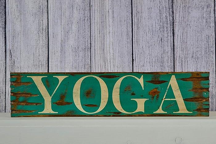 Amazon.com: Yoga Distressed Rustic 24