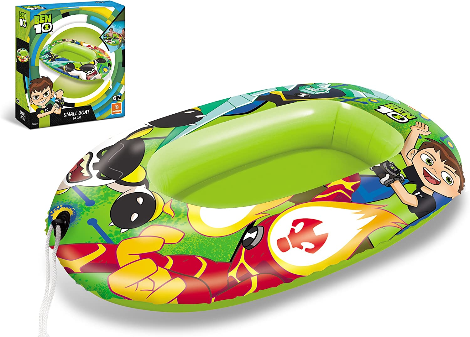 Ben 10- Barca Hinchable 94Cm para Playa O Piscina, Multicolor, 94 ...