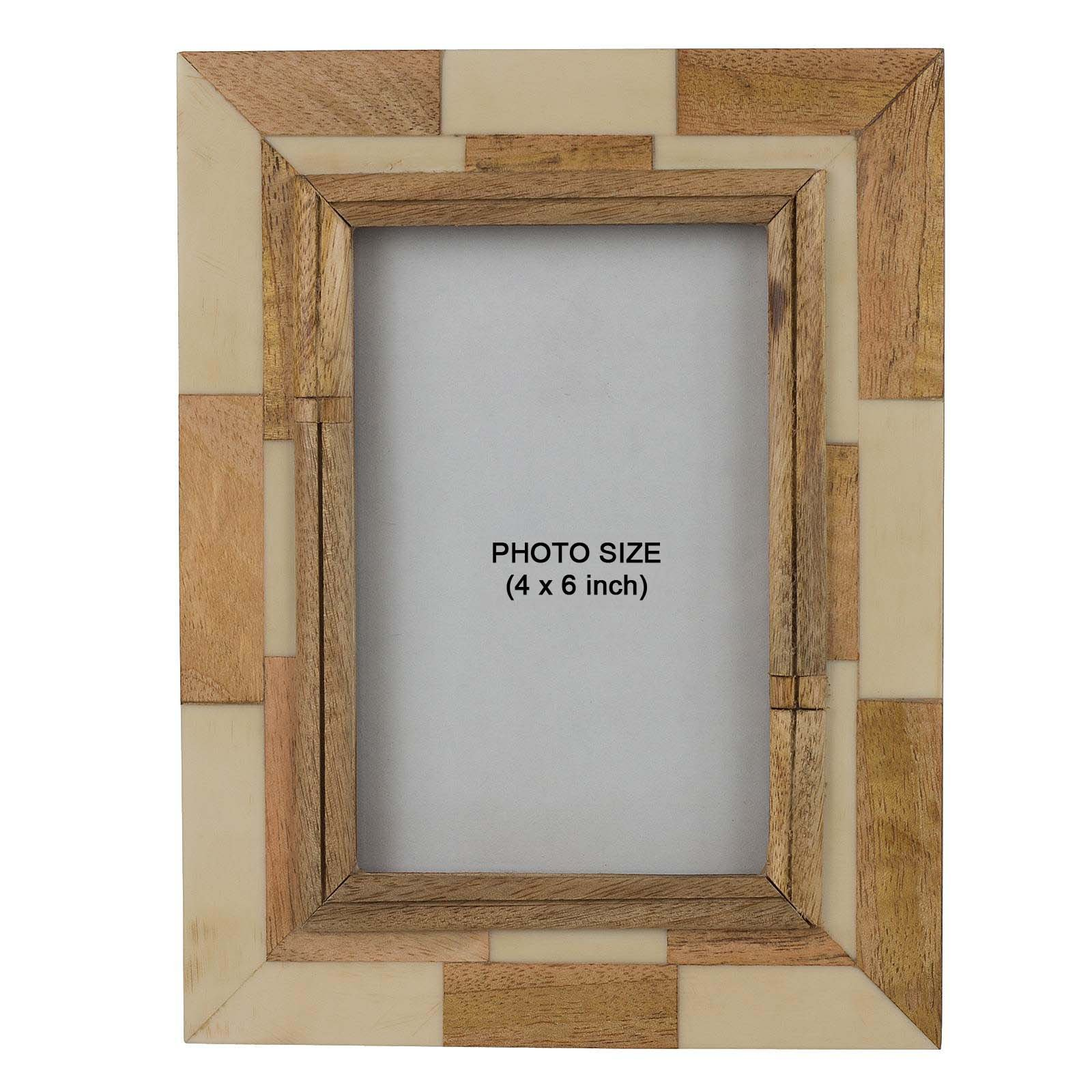 Fine Craft India Wooden Photo Frame Photo Size 4 x 6 inch MPN-wooden_photo_frame_7
