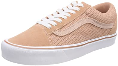 Vans Damen Old Skool Lite Sneaker, Pink (Mesh/Suede), 38 EU: Amazon ...