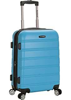 Amazon.com | Rockland Luggage Melbourne 3 Piece Abs Luggage Set ...