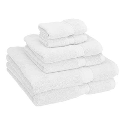Superior 900 GSM Luxury Bathroom 6 Piece Towel Set Made Of 100 Premium
