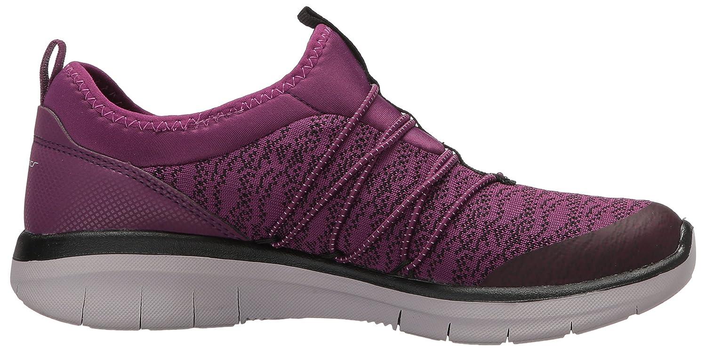 Skechers Sport Women's Synergy Sneaker 2.0 Simply Chic Fashion Sneaker Synergy B01NBWW1FD 8.5 B(M) US Purple/Black a4def5