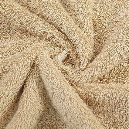Cuidado facil Toalla De Baño Adulto De Algodón Aumente La Absorción De Agua Del Espesamiento Hotel