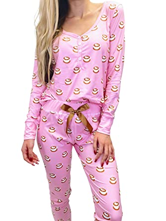 0c4a9461217a Jordann Jammies Coffee Pajama Set at Amazon Women s Clothing store