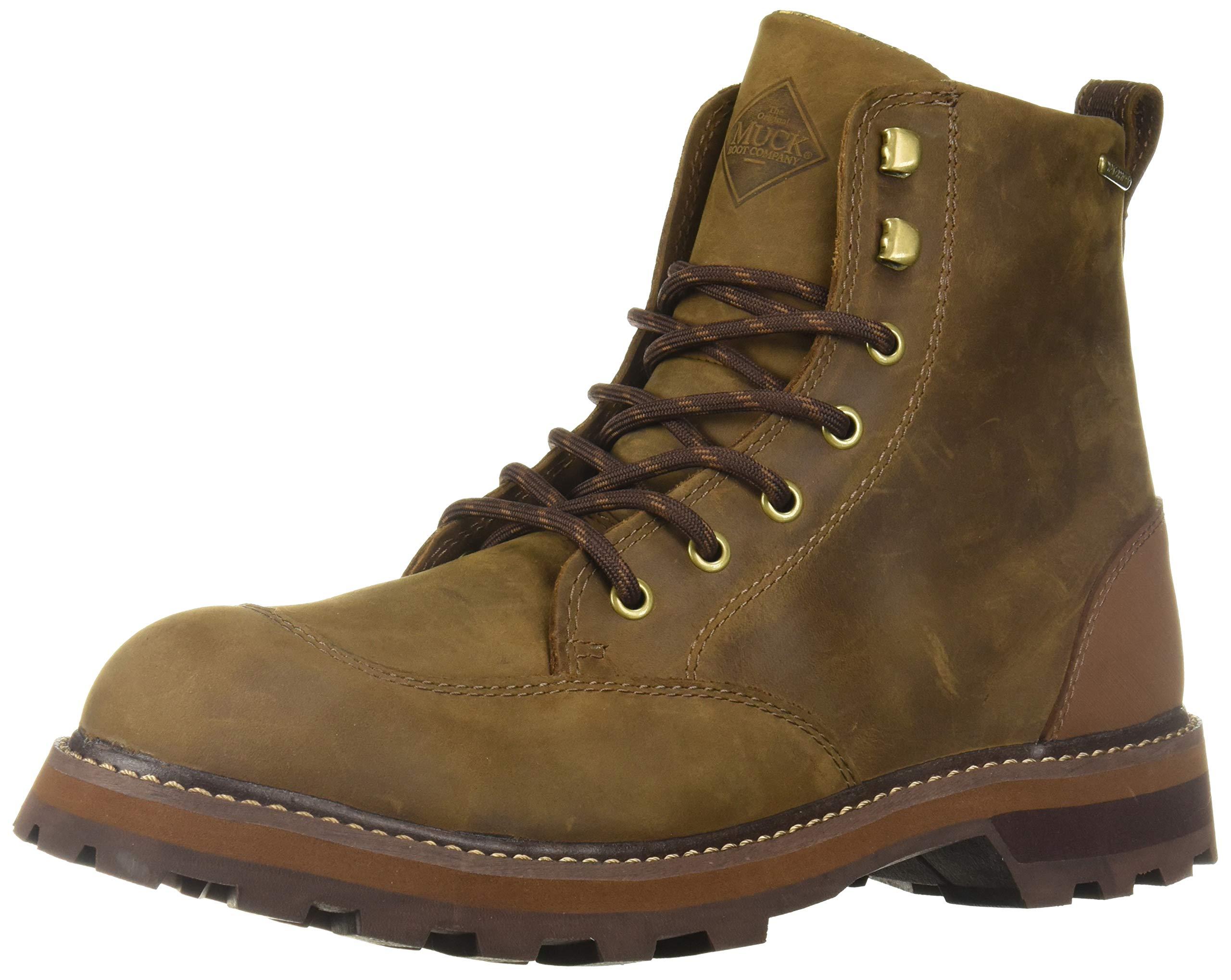 Muck Boot Men's Foreman Rain Boot Brown 8.5 Regular US by Muck Boot
