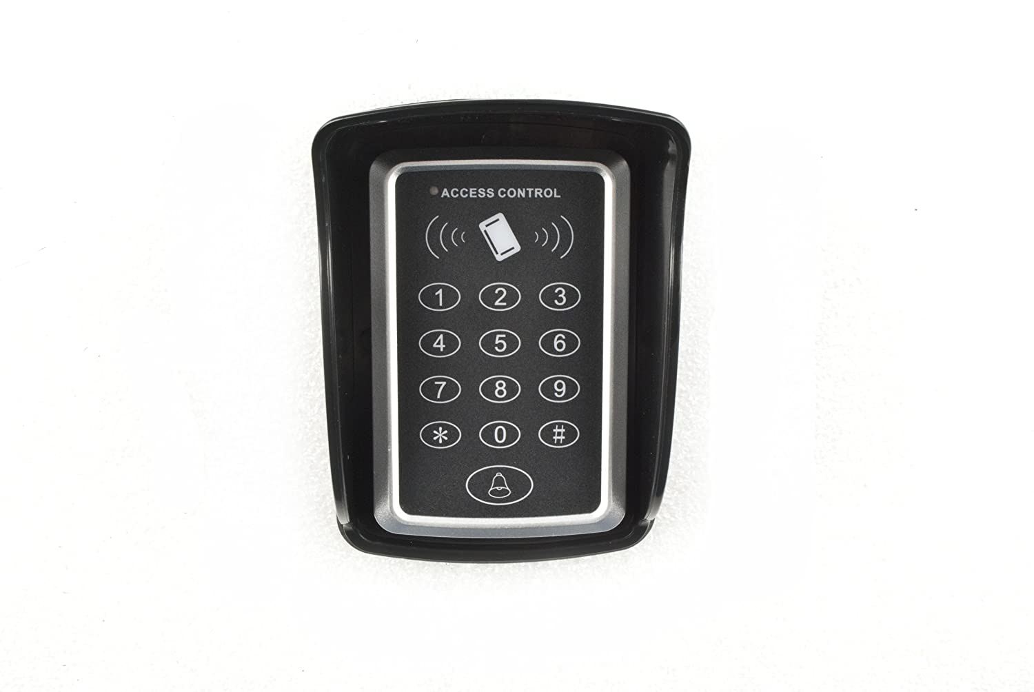 ALEKO LM174P 12//24V DC Universal Touch Panel Wired Keypad Code or ID Card Access