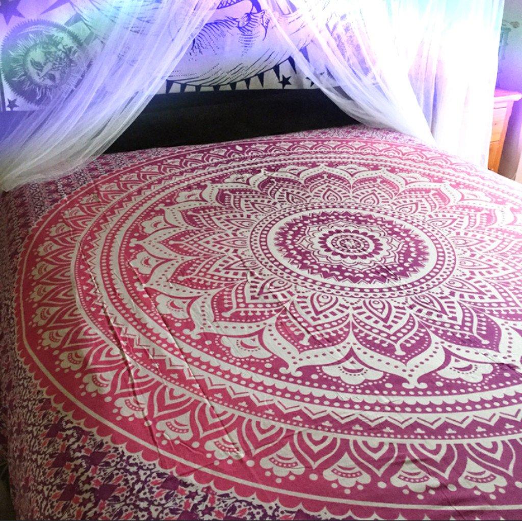 Amazoncom Hippie Tapestries Mandala Tapestries Tapestry Wall