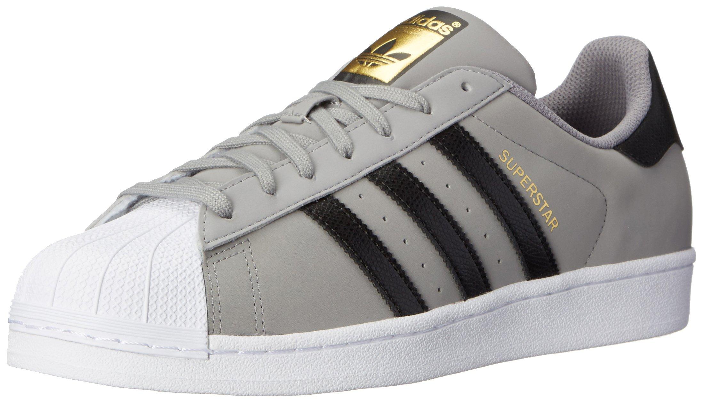 adidas superstar white grey