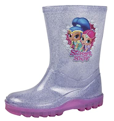 Wellington and Nickelodeon Shine Amazon Girls Glitter Shimmer Boots IzzwF