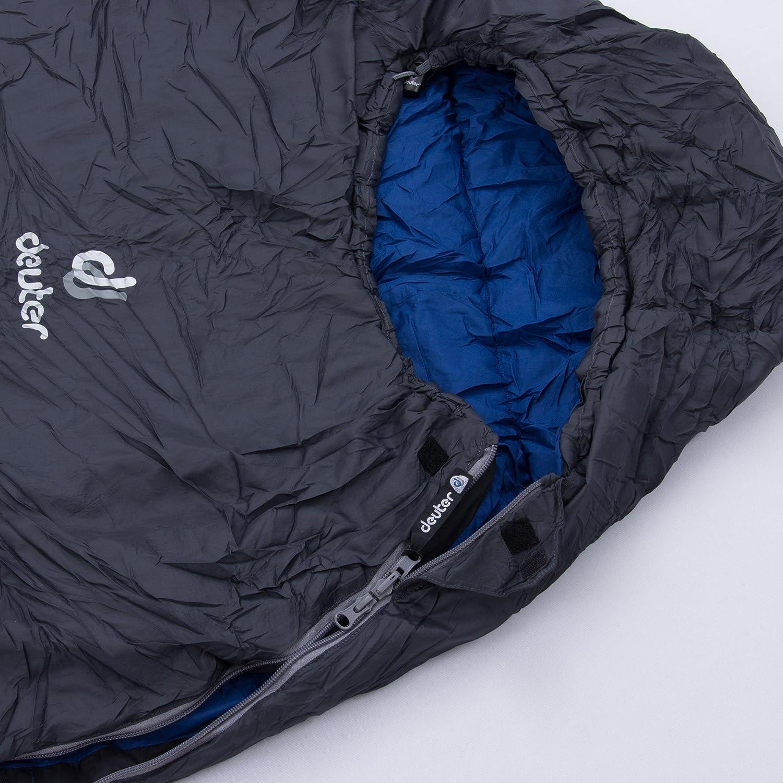 Deuter Orbit +5° - Saco de Dormir, Unisex Adulto, (Granite-Steel): Amazon.es: Deportes y aire libre
