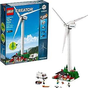 LEGO Creator Expert Vestas Wind Turbine 10268 Building Kit (826 Pieces)