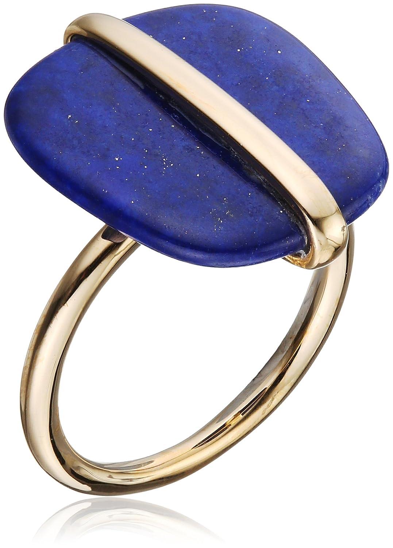 Lola Rose Jewellery Femme Plaqué or Ovale Lapis Lazuli Bagues