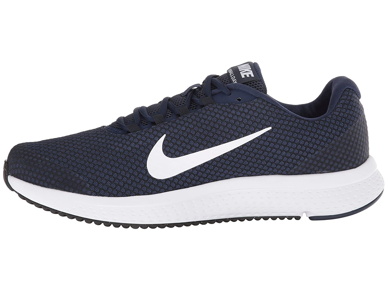 NIKE Men's RunAllDay Running Shoe B075ZYGRQK 9.5 D(M) US|Midnight Navy/White