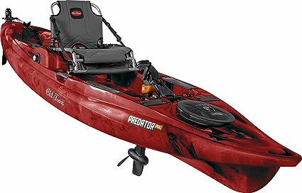 Amazon Com Old Town Predator Pdl Pedal Fishing Kayak Black Cherry