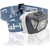 Ghost Bird Seiker X1 Head Lamp - LED Rechargeable Cree XPE - Waterproof IPX7, Freezeproof, Smashproof Perfect for Your…