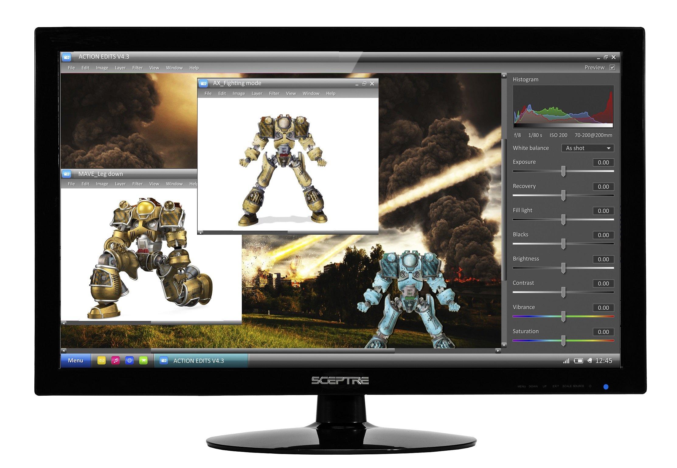 Sceptre E series E275W-1920 V1 27'' Screen LED-Lit Monitor