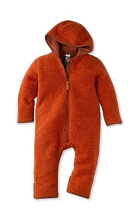 0bde61b338facb hessnatur Baby Mädchen und Jungen Unisex Wollfleece Overall aus Reiner  Bio-Merinowolle  Amazon.de  Bekleidung