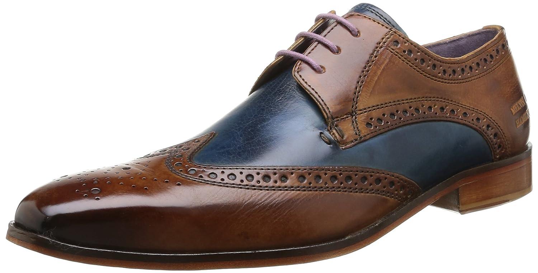 MELVIN & HAMILTON MH HAND MADE Schuhe OF CLASS Lance 2 Herren Derbys Mehrfarbig (Tan Mid Blau Na)